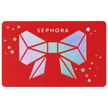 Sephora Collection Holiday Gift Card $150