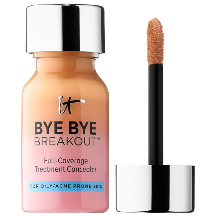 It Cosmetics Bye Bye Breakout™ Full-coverage Concealer Tan 0.35 Oz/ 10.5 Ml