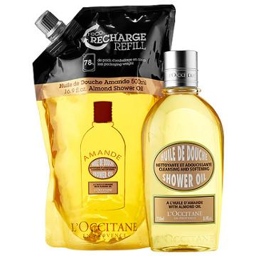 L'occitane Almond Eco-refill Combo Pack
