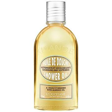 L'occitane Cleansing And Softening Shower Oil With Almond Oil 8.4 Oz