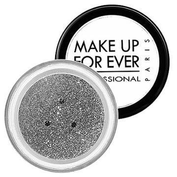 Make Up For Ever Glitters Silver 2