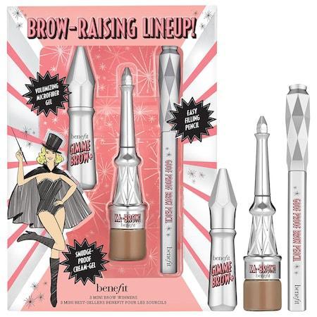 Benefit Cosmetics Brow Raising Lineup! Mini Brow Trio Set Shade 03