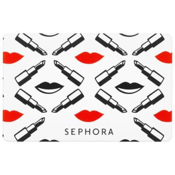 Sephora Collection Lips Gift Card $150