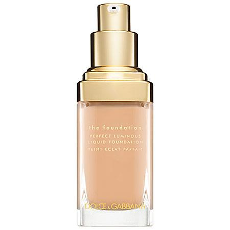 Dolce & Gabbana The Foundation Perfect Luminous Liquid Foundation Nautral Glow 100 1 Oz