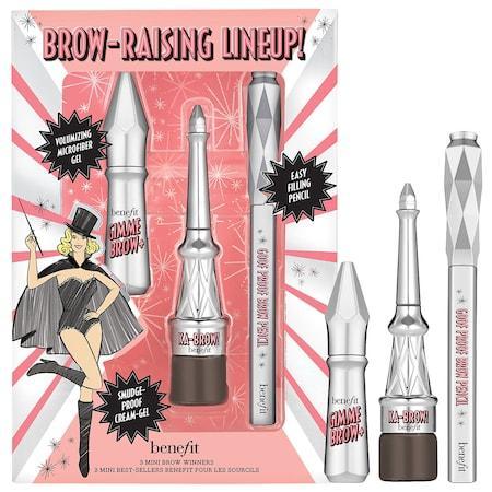 Benefit Cosmetics Brow Raising Lineup! Mini Brow Trio Set Shade 4.5