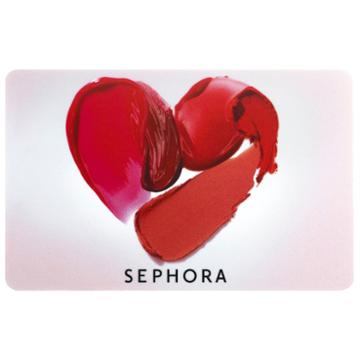 Sephora Collection Heart Gift Card $200