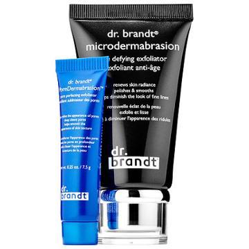 Dr. Brandt Skincare Microdermabrasion Age Defying Exfoliator + Mini Poredermabrasion(tm)