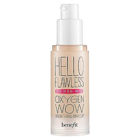 Benefit Cosmetics 'hello Flawless!' Oxygen Wow Liquid Foundation 'i'm Pure 4 Sure' Ivory 1 Oz