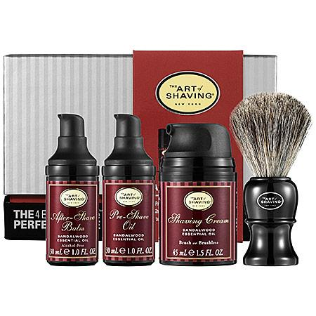 The Art Of Shaving The 4 Elements Of The Perfect Shave(tm) Carry-on - Sandalwood