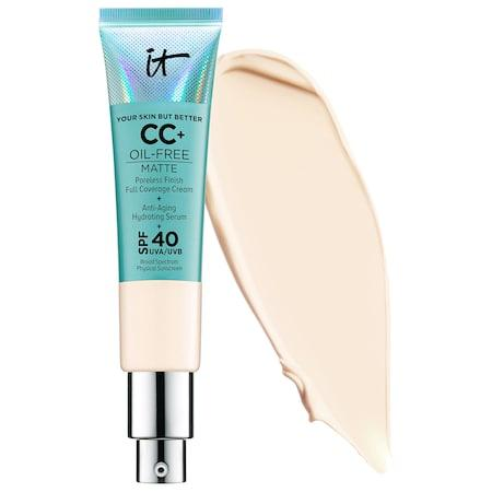 It Cosmetics Your Skin But Better Cc+ Cream Oil-free Matte With Spf 40 Fair 1.08 Oz/ 32 Ml