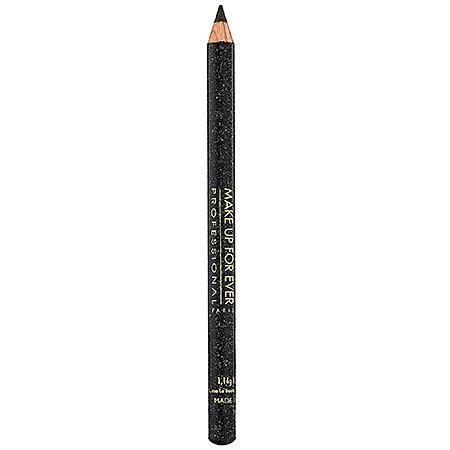 Make Up For Ever Kohl Pencil Black With Metal Highlights 6k 0.04 Oz