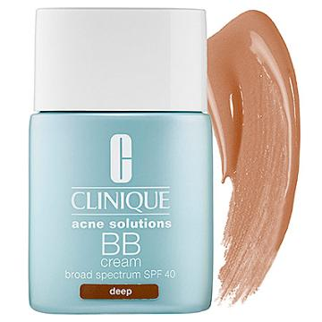 Clinique Acne Solutions Bb Cream Broad Spectrum Spf 40 Deep 1 Oz