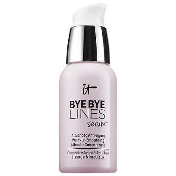 It Cosmetics Bye Bye Lines Serum(tm) Advanced Anti-aging Wrinkle-smoothing Miracle Concentrate 1 Oz