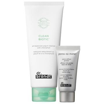 Dr. Brandt Skincare #cleanbiotic + Pore Refiner Primer Bundle
