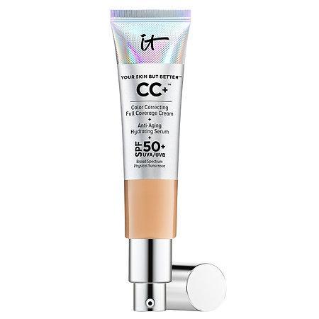 It Cosmetics Your Skin But Better™ Cc+™ Cream With Spf 50+ Medium 1.08 Oz/ 32 Ml