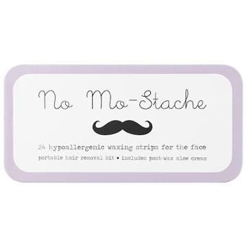 No Mo-stache No Mo-stache Portable Hypoallergenic Waxing Strips For The Face 24 Strips