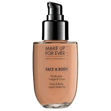 Make Up For Ever Face & Body Liquid Makeup Sand 22 1.69 Oz