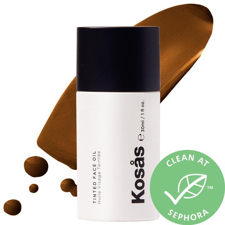 Kosas Tinted Face Oil Foundation Tone 8.7 1.0 Oz/ 30 Ml