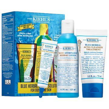 Kiehl's Since 1851 Blue Herbal 3-step Solution