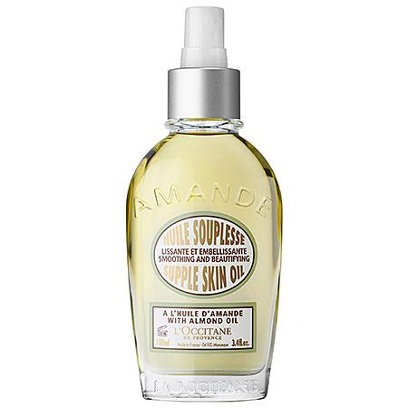 L'occitane Almond Smoothing And Beautifying Supple Skin Oil 3.4 Oz