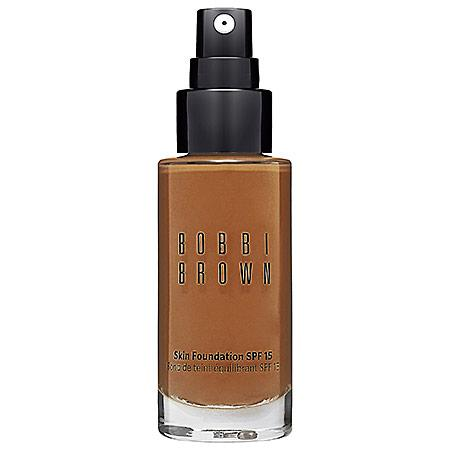 Bobbi Brown Skin Foundation Spf 15 Warm Almond 6.5 1 Oz