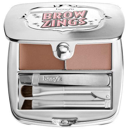 Benefit Cosmetics Brow Zings Tame & Shape Kit 4 0.09 Oz Powder, 0.06 Oz Wax