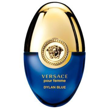 Versace Dylan Blue Pour Femme Ovetto 0.34 Oz/ 10 Ml Eau De Parfum Spray