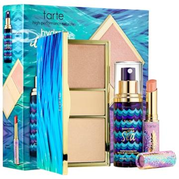 Tarte Hydrate, Illuminate, Glow Beauty Essentials Set - Rainforest Of The Sea(tm) Collection