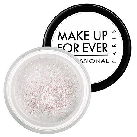Make Up For Ever Glitters Multicolored White 3