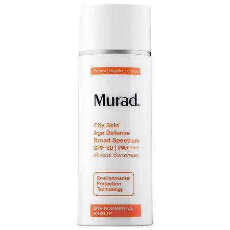 Murad City Skin Age Defense Broad Spectrum Spf 50 Pa++++ 1.7 Oz/ 50 Ml