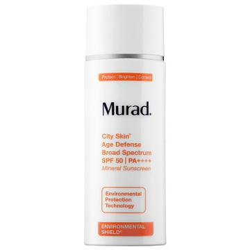 Murad City Skin Age Defense Broad Spectrum Spf 50 Pa++++ 1.7 Oz/ 50 Ml