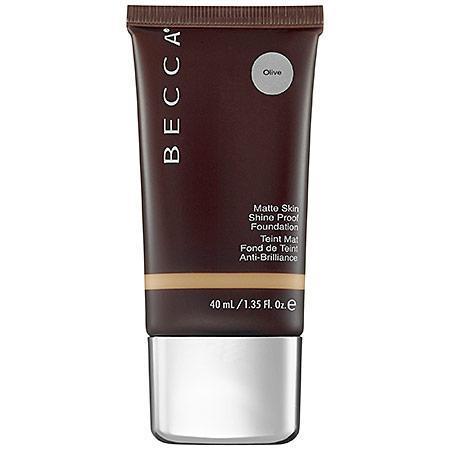 Becca Ever-matte Shine Proof Foundation Olive 1.35 Oz