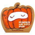 Too Cool For School Pumpkin 24k Gold Sheet Mask 1 Single-use Mask