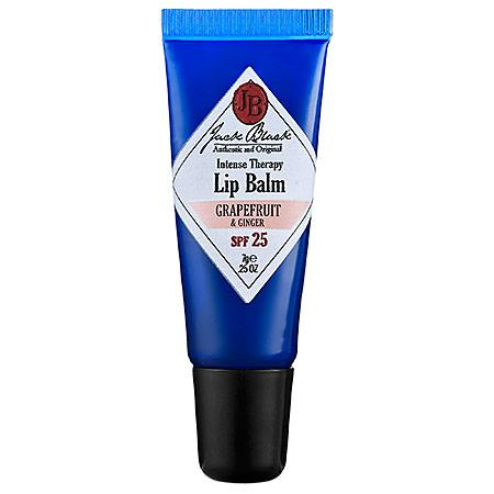 Jack Black Intense Therapy Lip Balm Spf 25 Grapefruit & Ginger 0.25 Oz