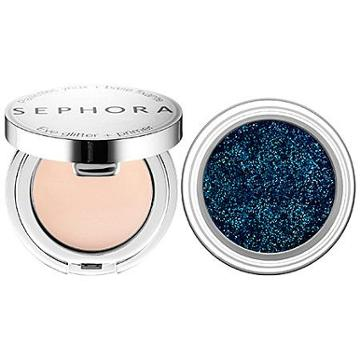 Sephora Collection Glittering Eye Duo  02 Blue