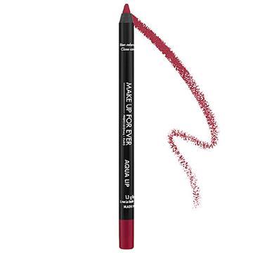Make Up For Ever Aqua Lip Waterproof Lipliner Pencil Pomegranate Pink 19c 0.04 Oz