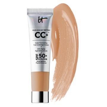 It Cosmetics Cc+ Cream With Spf 50+ Tan 0.4 Oz/ 12 Ml