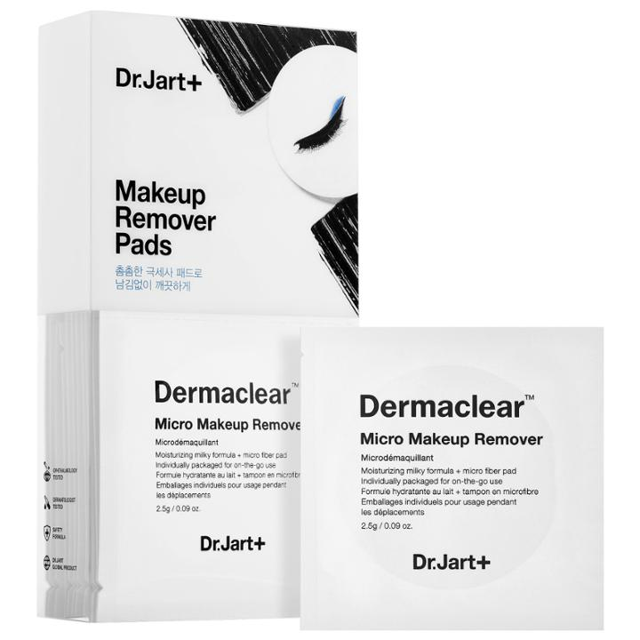 Dr. Jart+ Dermaclear Micro Makeup Remover Pads 20 X 0.09 Oz/2.56 G Pads