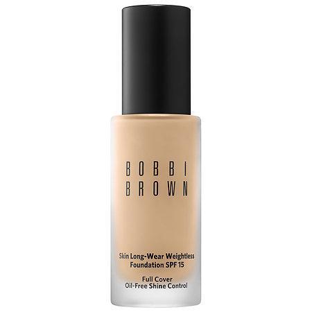 Bobbi Brown Skin Long-wear Weightless Foundation Spf 15 Warm Sand 2.5 1 Oz/ 30 Ml