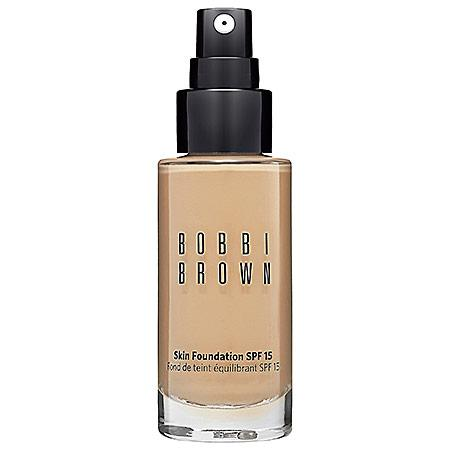 Bobbi Brown Skin Foundation Spf 15 Natural Tan 4.25 1 Oz
