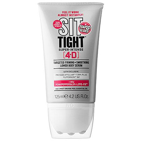 Soap & Glory Sit Tight(tm) 4-d Targeted Firming+smoothing Lower Body Serum 4.2 Oz