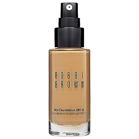 Bobbi Brown Skin Foundation Spf 15 Warm Honey 5.5 1 Oz
