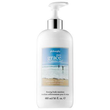 Philosophy Pure Grace Summer Surf Firming Body Emulsion 16 Oz/ 480 Ml Body Lotion