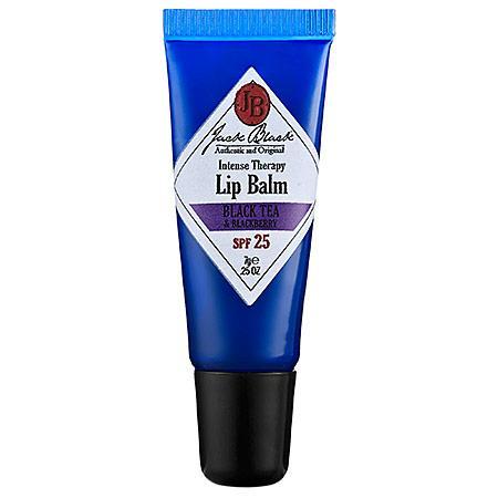 Jack Black Intense Therapy Lip Balm Spf 25 Black Tea & Blackberry 0.25 Oz
