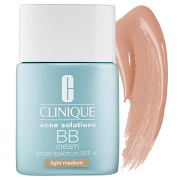 Clinique Acne Solutions™ Bb Cream Spf 40 Light Medium 1 Oz/ 30 Ml