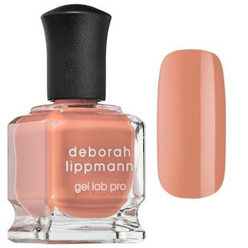 Deborah Lippmann Gel Lab Pro Nail Polish Peaches & Cream 0.50 Oz/ 15 Ml