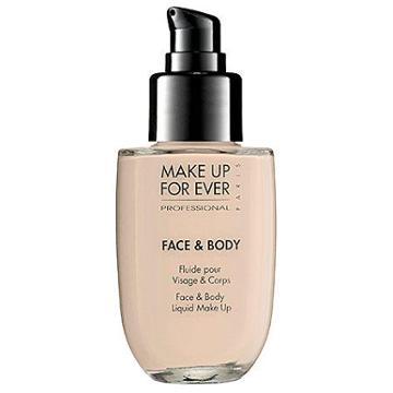 Make Up For Ever Face & Body Liquid Makeup Pink Porcelain 38 1.69 Oz