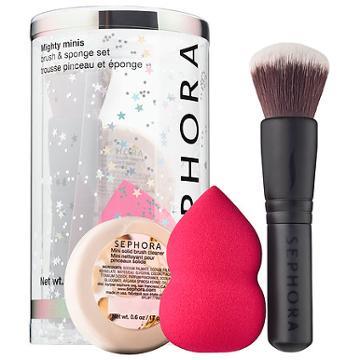 Sephora Collection Mighty Minis Brush & Sponge Set