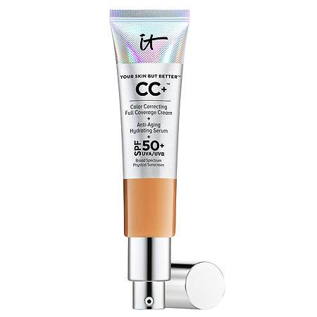 It Cosmetics Your Skin But Better™ Cc+™ Cream With Spf 50+ Tan 1.08 Oz/ 32 Ml