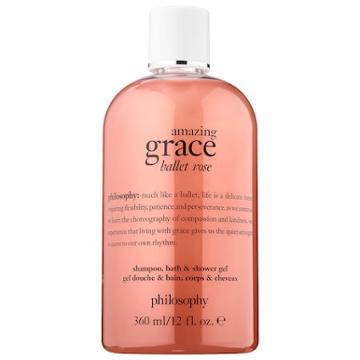 Philosophy Amazing Grace Ballet Rose Shower Gel 12 Oz/ 360 Ml